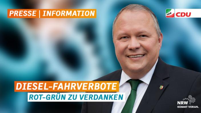 """""""Diesel-Fahrverbote Rot-Grün zu verdanken"""""""