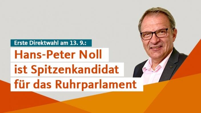 Hans-Peter Noll ist CDU-Spitzenkandidat für das Ruhrparlament
