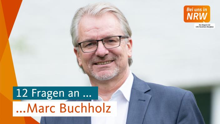12 Fragen an Marc Buchholz