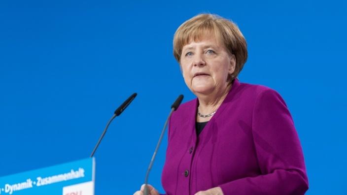 """""""Wir können uns glücklich schätzen, eine so starke, kluge und engagierte Regierungschefin zu haben."""""""