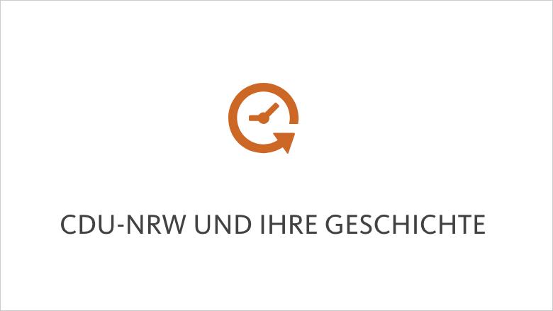 CDU-NRW und ihre Geschichte