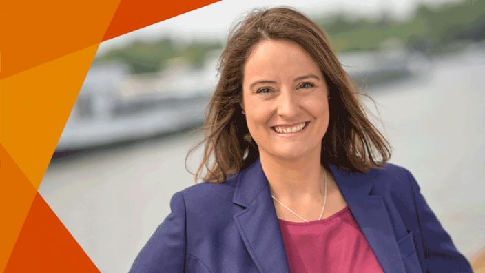 Anna Katharina Bölling - unsere Landratskandidatin für den Kreis Minden-Lübbecke.